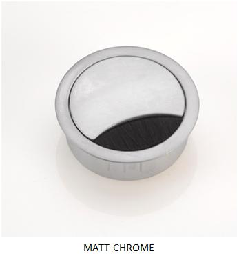 Bpf Round Metal Cable Port Amp Metal Desk Grommet Buy Online