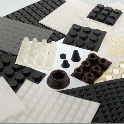 Self Adhesive Rubber Feet & Bumpers