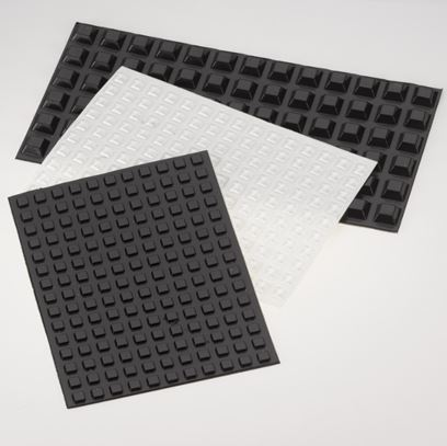 Square Self Adhesive Rubber Feet & Bumpers