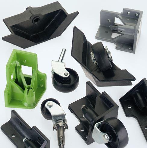 Castor Blocks & Single Wheels