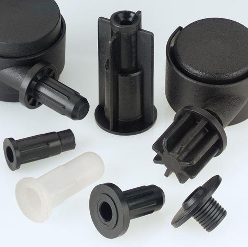 Castor Sockets & Tube Inserts