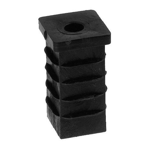 Castor Sockets & Tube Inserts | Square