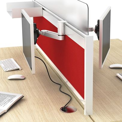 Desk Screen Fittings & Toolbar Organisers