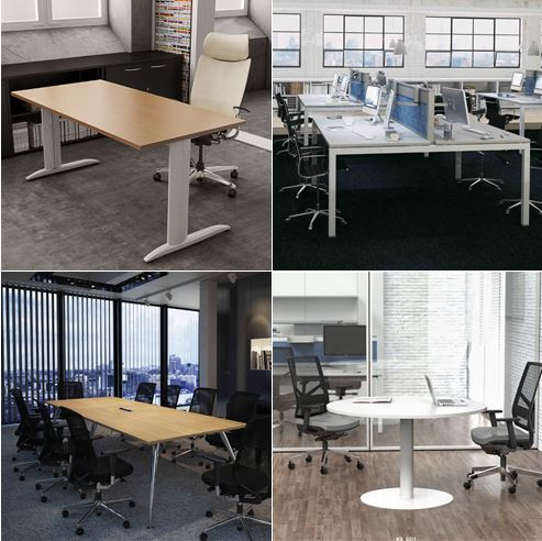 K Series Office Desk & Table Frames