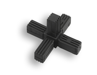 BPF - Square Tube 5 Way Reinforced Tube Connector - Buy Online