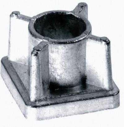 BPF - Square Metal Aluminium Cast Threaded Tube Inserts - Buy Online