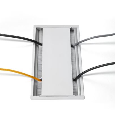 Dual Opening Hinged Access Plates