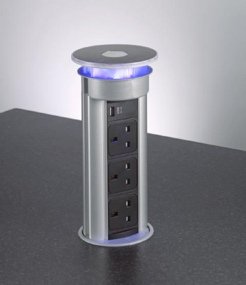 Bpf Pop Up Sockets Concealed Kitchen Powerdocks Buy Online