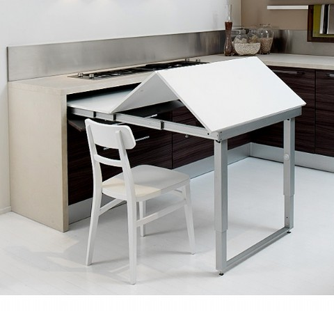 Technical Data This Ingenious Table Design Has Been Developed To Maximise  Space Saving In Smaller Areas, Or Where A Clutter Free Environment Is  Required.