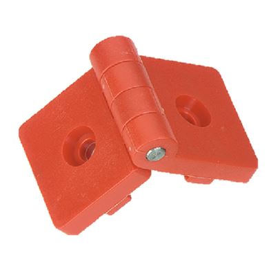 Plastic Hinges with Studs