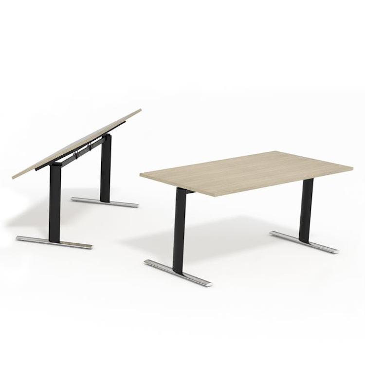 K10R Fliptop Table Frames   Concealed Castors