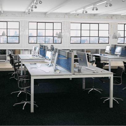K3 Beam & Bench Desk Frames