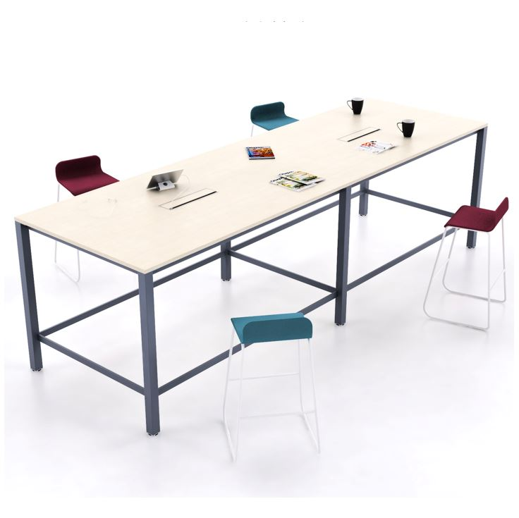 K65 | Tall Team Tables & H Frame Lab Benches