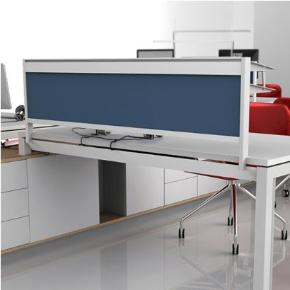 Office Desk Partition Screen Systems
