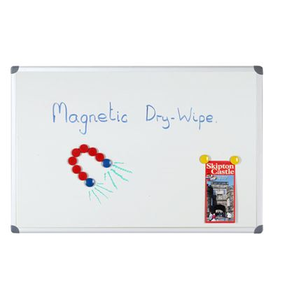 Magnetic Drywipe White Boards