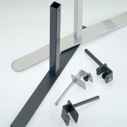 Office Screen Brackets & Partition Fittings