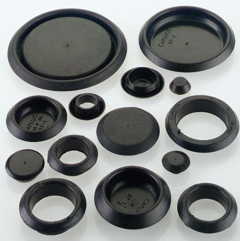 Panel Plugs, Open & Blind Grommets