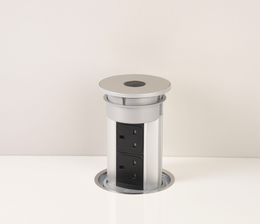 Flush Fitting Pop Up Kitchen Sockets Bpf