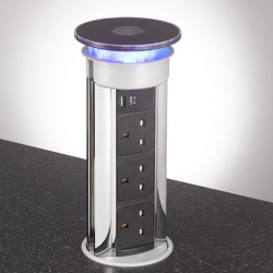 Pop Up Kitchen Sockets & Worktop Power