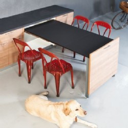 EVOLUTION Pull Out Table 1040 / 1520 mm
