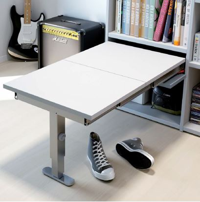 T-BENCH Pull Out Bench Seating with Leg | 870mm