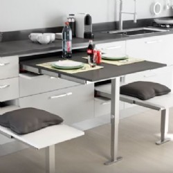 T-ABLE Pull Out Table Frame | 900mm / 1310mm