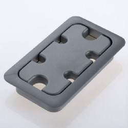 Grommets for Rectangular Holes