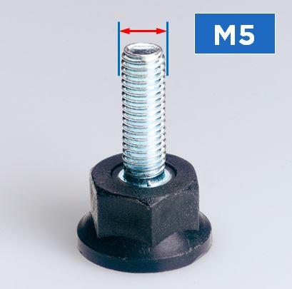 M5 Thread Rigid Feet