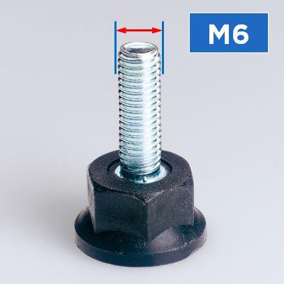 M6 Thread Rigid Feet