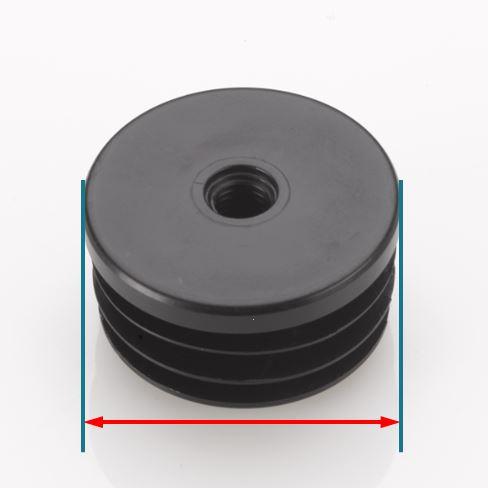 Round Threaded Tube Inserts | By Tube Diameter