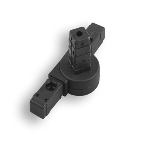 Square Tube Connectors | 3-Way Articulating