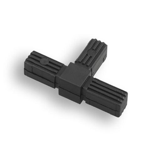 Square Tube Connectors | Square 3-Way T Shape