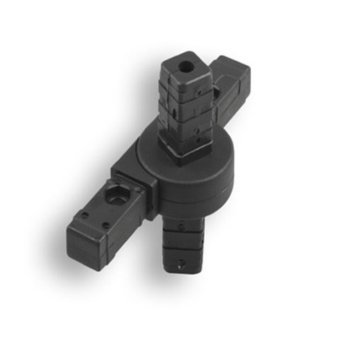 Square Tube Connectors | Square 4-Way Articulating