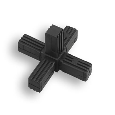 Square Tube Connectors | 5-Way Fixed