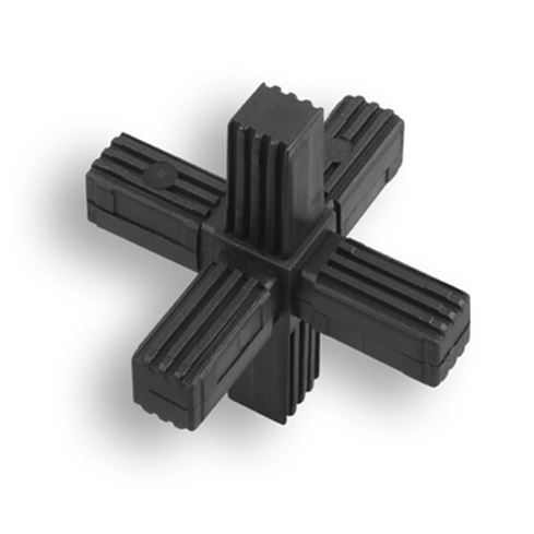 Square Tube Connectors | 6-Way Fixed