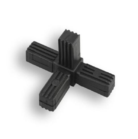 Square Tube Connectors | 4-Way Fixed