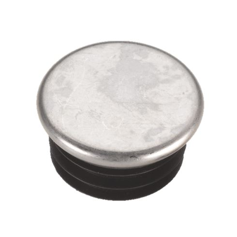 Chrome Capped Round Tube Inserts