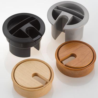 Wooden Grommets & Pen Pots