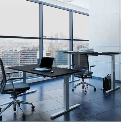 K20 | Sit-Stand Height Adjustable Desk Frames